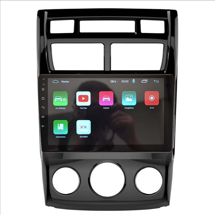 SUDA Android large screen is suitable for Kia shipao manual air conditioning vehicle GPS navigator h