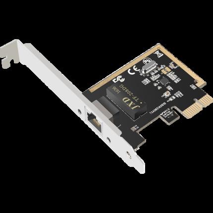 DIEWU Card mạng không dây  PCIe Gigabit Card mạng Máy tính để bàn Ethernet pci-e Máy tính Card mạng