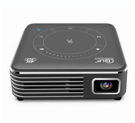 DLP Android 9.0 mini projector P11 same screen 4K decoding portable mini projector