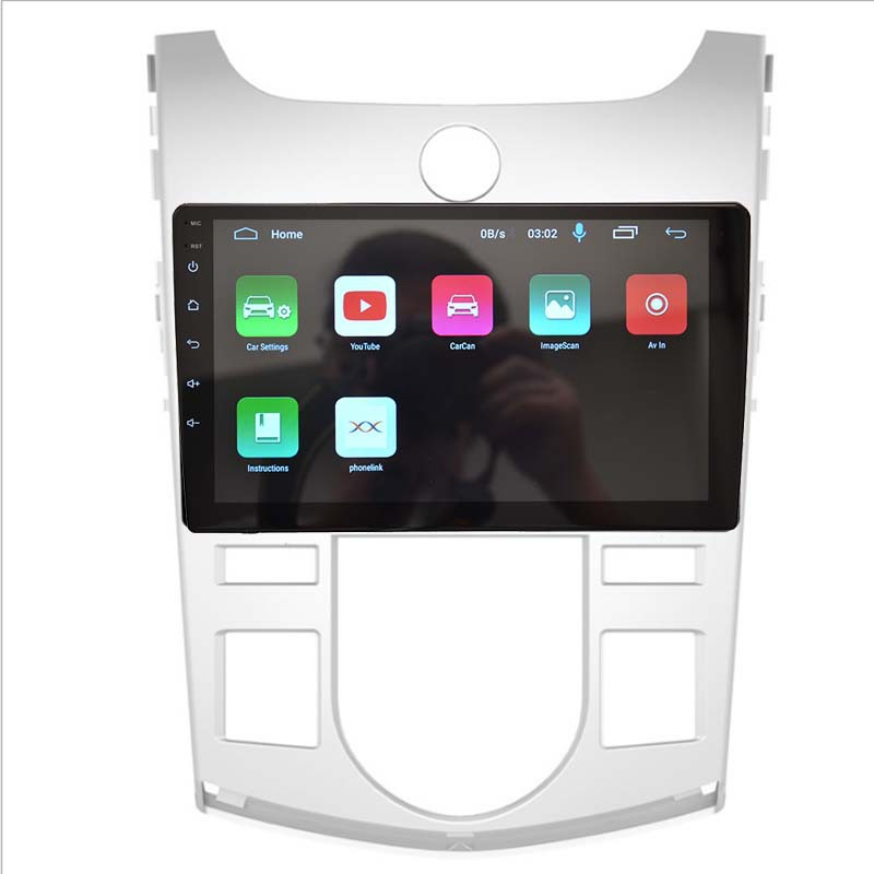 SUDA Android large screen is suitable for Kia Freddy automatic air conditioning vehicle GPS navigato