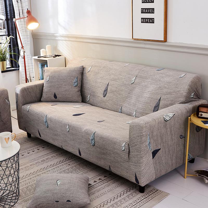 GUDANYA Universal sofa cover full cover Elastic non-slip leather sofa cover full cover fabric combin