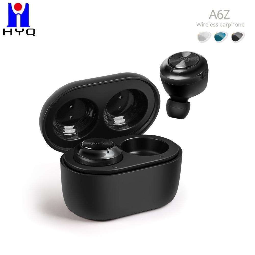 HUAYI Wireless A6 Bluetooth headset TWS Bluetooth headset 5.0 on-ear stereo hidden sports headset st