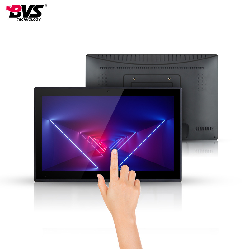 BVS Touch all-in-one 15.6-inch new private film with built-in NFC capacitive touch Android system ta