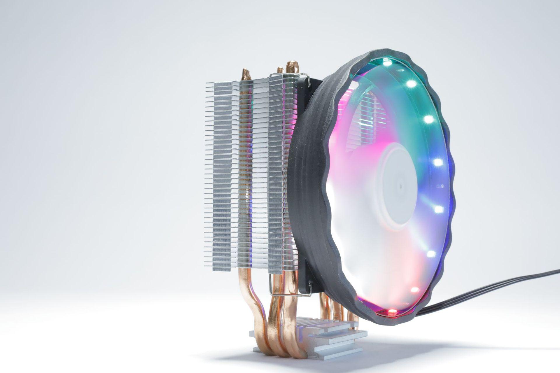 Mute cooler 3 heat pipe cpu radiator desktop computer cup fan mute 1366 AMDcpu fan 7751155