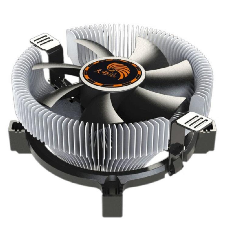 Q50 Tianjifeng CPU radiator multi-platform AMD 775 1150 1155 1156 ultra-quiet universal