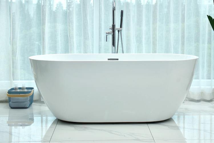 Bồn tắm cạnh mỏng acrylic bồn tắm liền mạch gia dụng