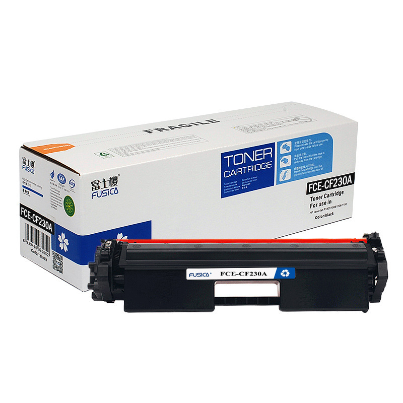 Fusica Office supplies CF230A HP toner cartridge for HP printer M203 M227 hp203 toner cartridge m277