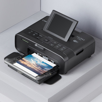 Canon Máy in Máy in ảnh điện thoại di động nhỏ Canon CP1300 máy in ảnh thăng hoa mini gia đình không