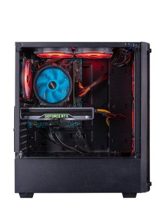 Máy vi tính để bàn Leo lên chiến trường S7-1 thế hệ thứ mười i7 10700F / RTX2060 máy chủ lắp ráp máy