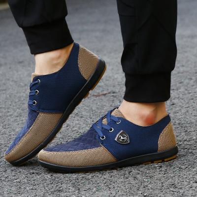 Giày lười vải bố thời trang phong cách mới