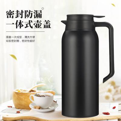 JINBANG Ấm,bình đun siêu tốc Bình cách nhiệt bằng thép không gỉ dung tích lớn bình cà phê bình nước
