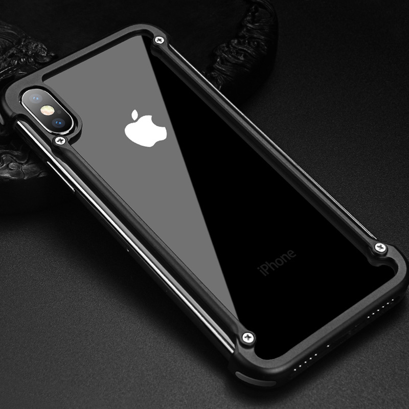 PAIFAN Pifan is suitable for Apple X mobile phone shell 8 metal frame xs max new 7plus anti-drop iPh