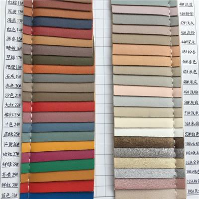 Da dê Mới K6538 da nhân tạo vải da cừu mẫu da len đáy mờ trang trí túi sofa Vật liệu tự làm
