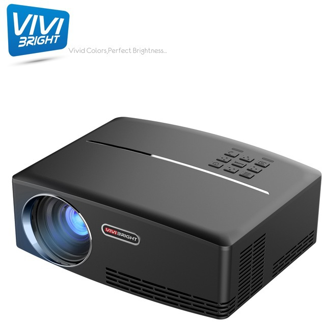 Home movie projector wholesale hot sale home micro projector GP80 support 1080p HD portable