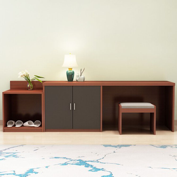 ANXIN Hotel furniture standard room full set of TV cabinet luggage cabinet Hotel B & B apartment