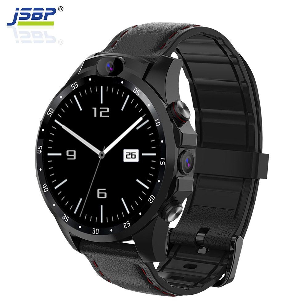 JSBP X361Pro smart watch 4G plug-in cartoon call full Netcom dual camera custom dial