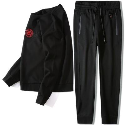 YINGEDIAO Đồ Suits Thể thao giải trí mùa thu áo len dài tay phù hợp với nam giới trẻ trung và trung