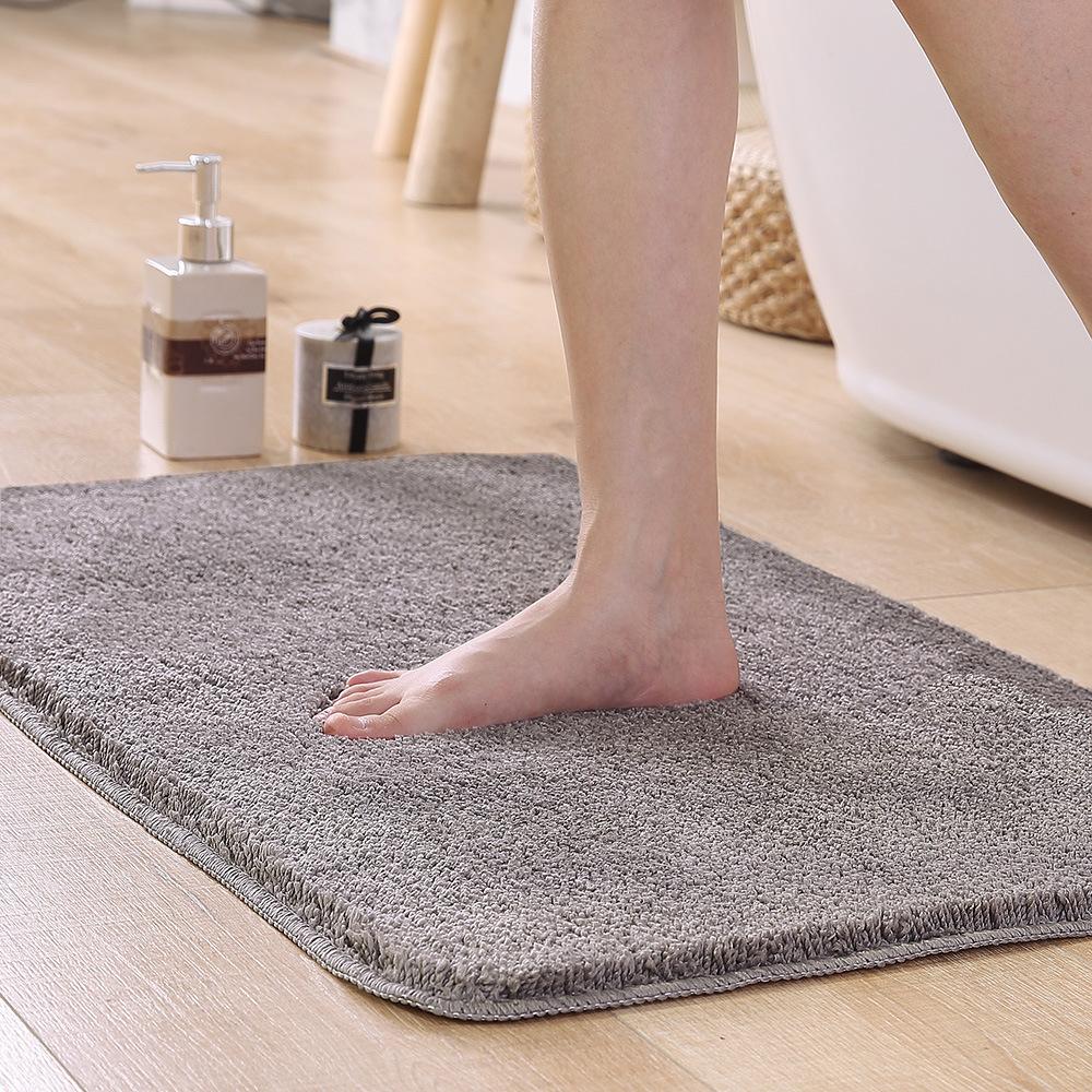 HANJI Bathroom absorbent floor mats absorbent door mats household carpets bathroom doors toilet non-