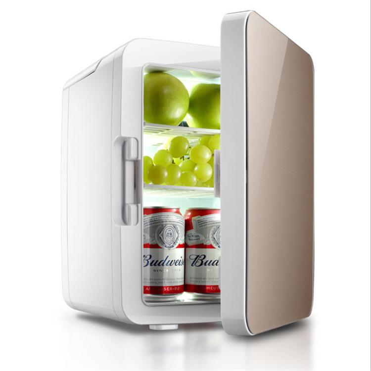 JINGKE 10L car refrigerator household mini refrigerator household mini refrigerator thermostat