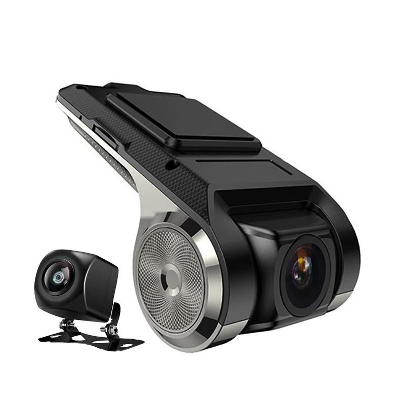 YUNXIANFENG Hidden dash cam Android large screen navigation dash cam USB with electronic dog