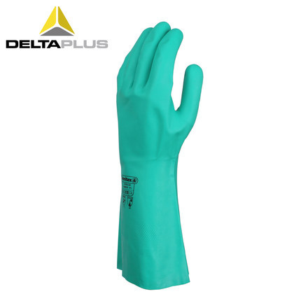 Deltaplus 201802 nitrile chemical resistant gloves industrial oil resistant protective gloves thicke