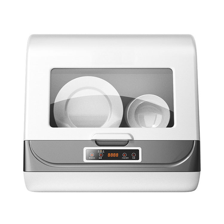 Multifunctional dishwasher, household smart, no installation of 8L dishwasher, automatic drying and