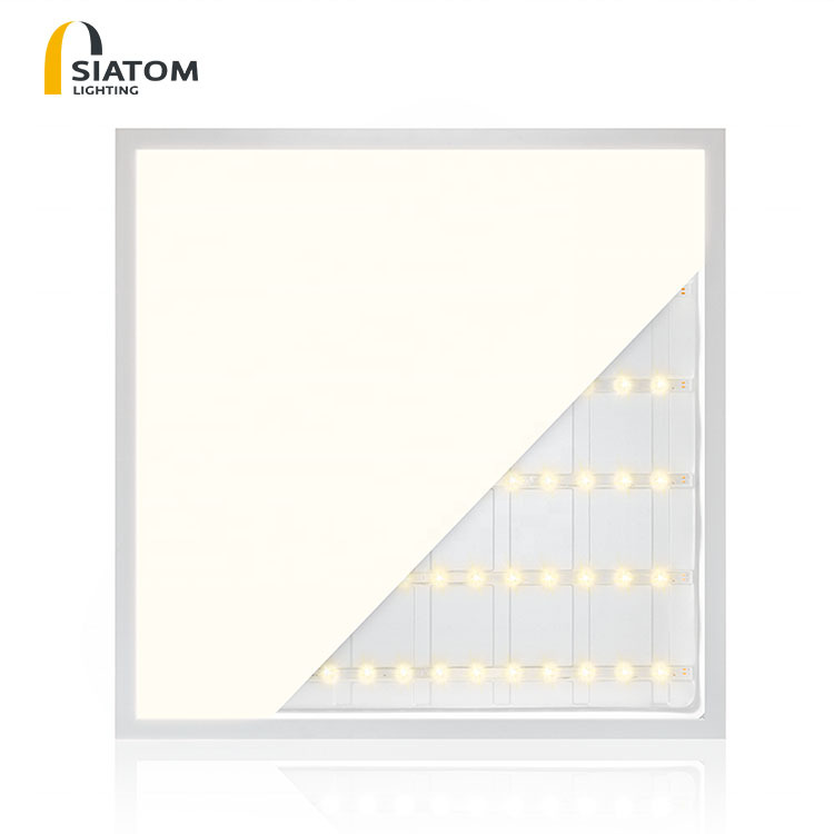 SAITONG LED panel lamp 600 * 600 office lamp integrated ceiling lamp ultra thin surface mounted conc