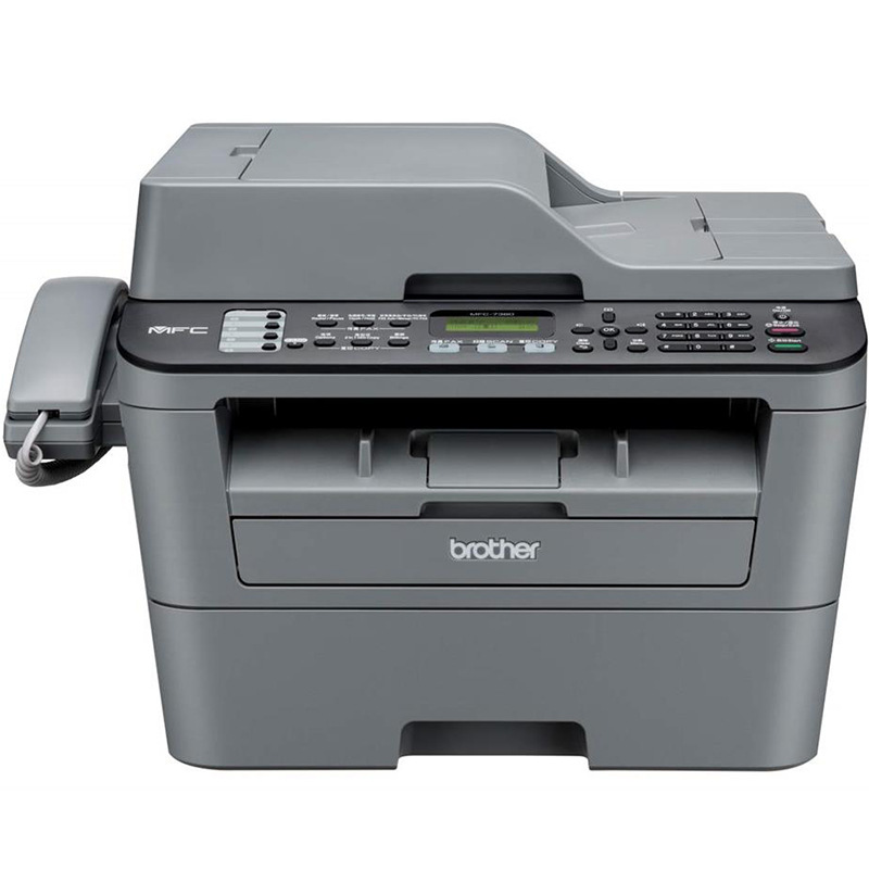 Brother mfc-7380 black and white laser multi-function printer copy scan fax machine 7360 upgrade