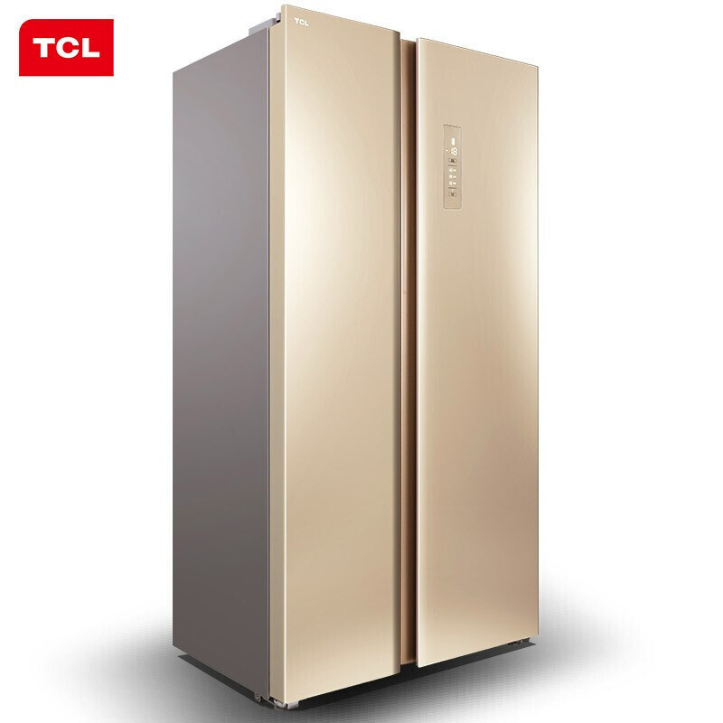 TCL 509l bcd-509wefa1 air cooled frost free negative ion thin double door household refrigerator