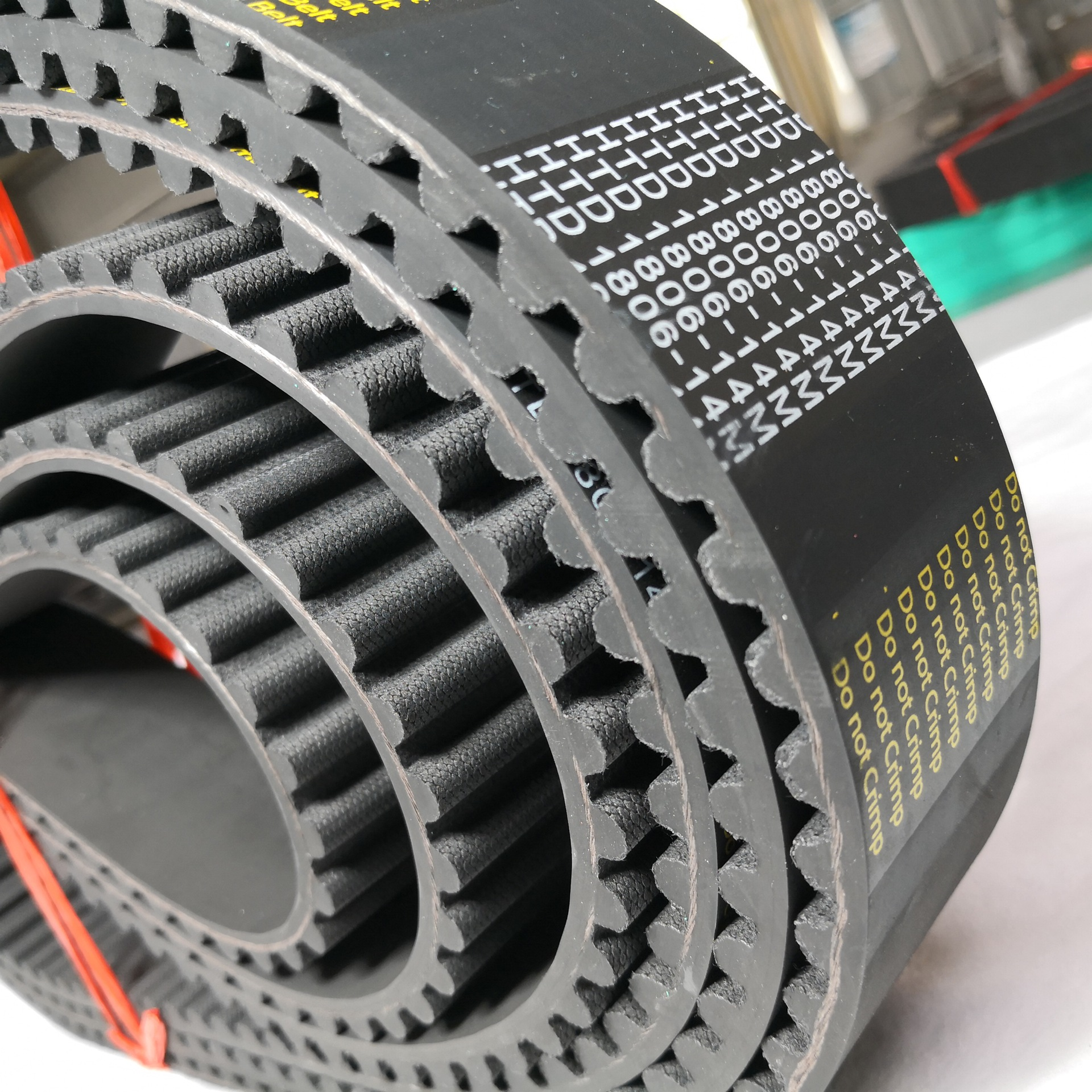 LIBOSE HTD rubber arc tooth synchronous belt 3m5m8m14m20m transmission belt industrial tooth type sy