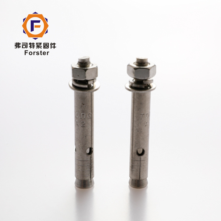 FUSITE 304 stainless steel expansion bolt top explosion explosion screw hollow expansion car repair