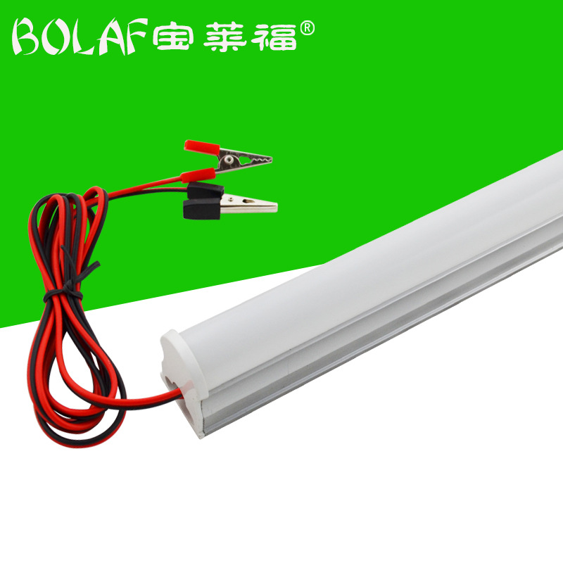 BOLAF LED tube T8 integrated fluorescent tube DC night stand emergency energy saving light tube T8LE