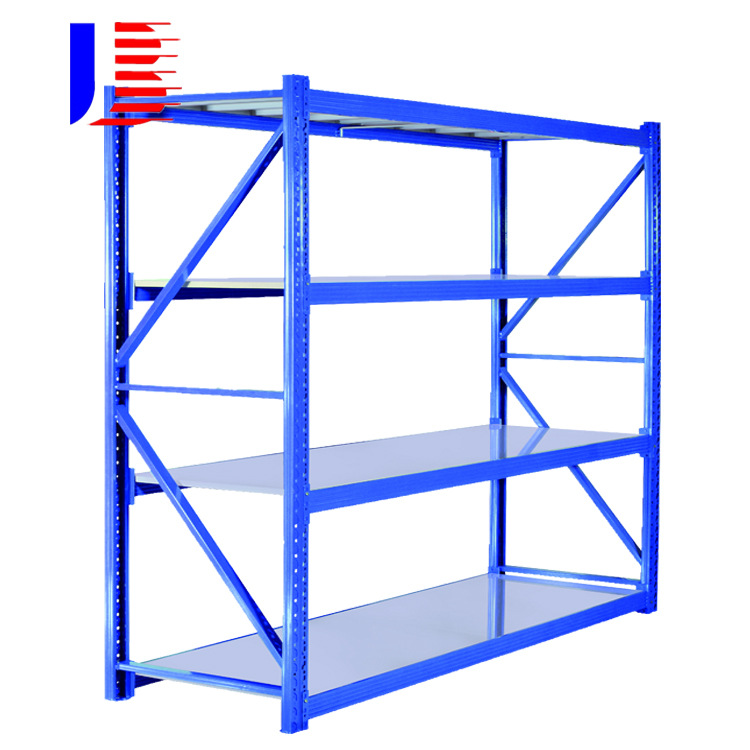Jiabao (Guangdong) angle steel warehouse rack special storage rack for light and medium metal storag