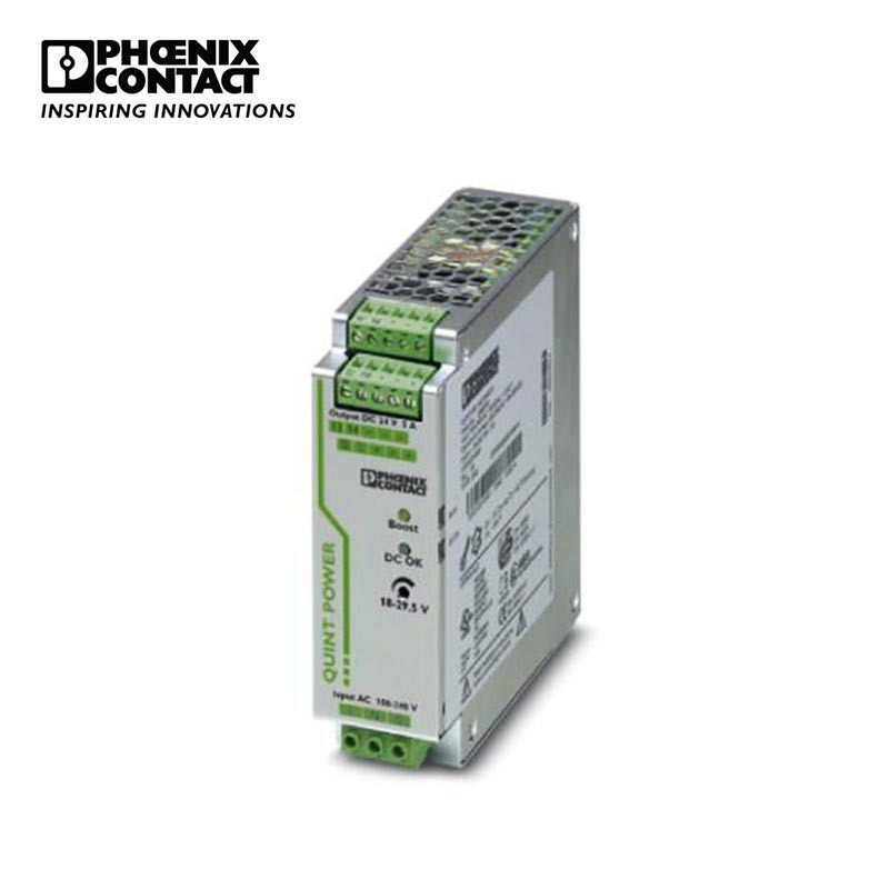 PHOENIX CONTACT Phoenix power supply - quint-ps / 1Ac / 24dc / 5 - 2866750
