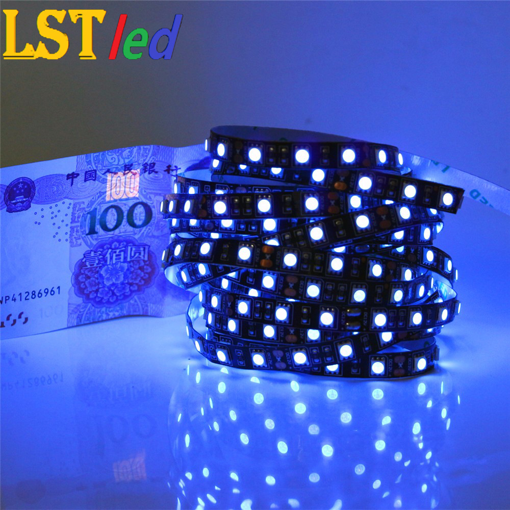 LESTER Low voltage 12vled lamp with 5050RGB light belt and 60 beads single row bare board waterproof