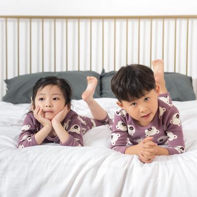 TANGWEIMAO Đồ Suits trẻ em Em bé mùa thu mùa đông mùa thu quần áo ấm quần lót ấm quần áo trẻ em tran