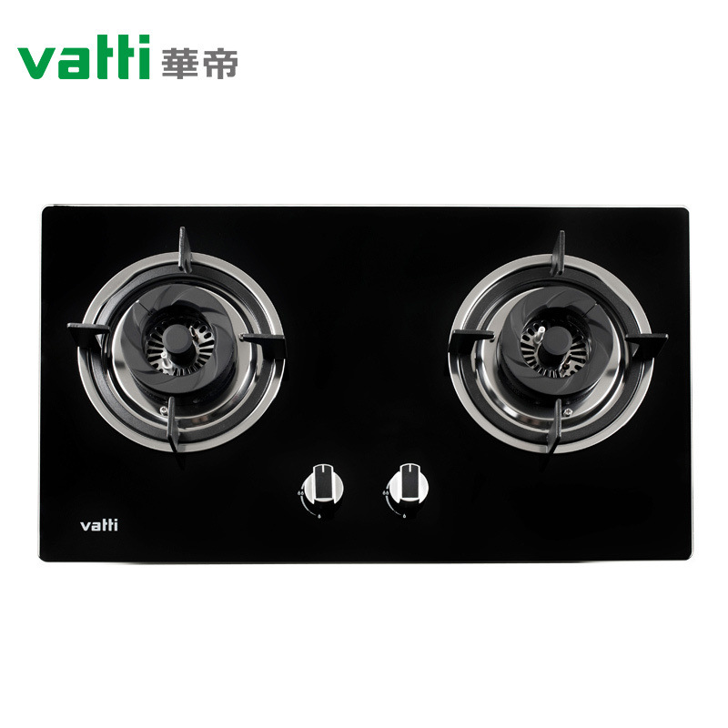Vatti jzt-b8203b gas range, high-power and high fire range, glass bench and double-purpose stove