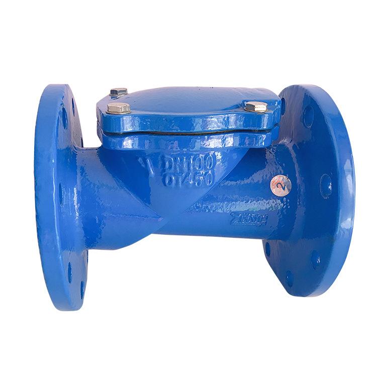 Check valve swing check valve rubber flap check valve H44X