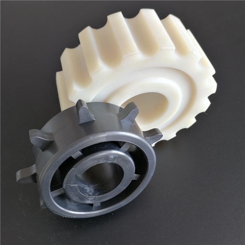 Processing customized PA nylon gear wear resistant plastic gear POM transmission gear