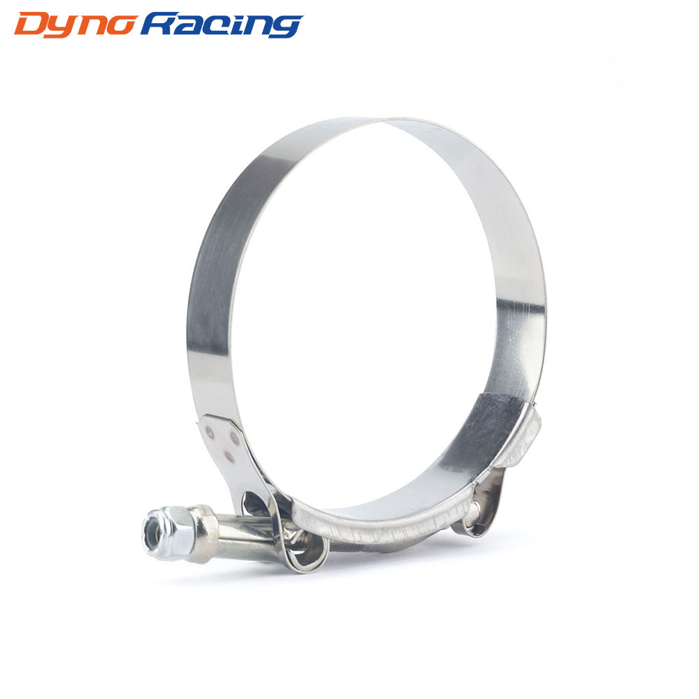 Dyno Racing Exhaust pipe clamp of motorcycle muffler stainless steel T-type strong clamp hoop