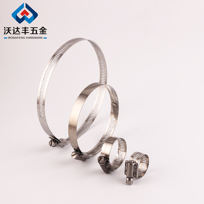WODAFENG Gasch hose clamp 12.7mm14.2mm15.6mm18mm pipe clamp matching hose clamp for communication /