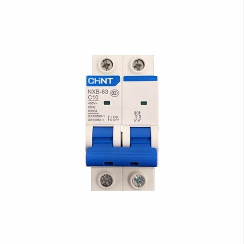 CHNT New type of Chint air switch miniature circuit breaker Kunlun series nxb-63 2p63ac