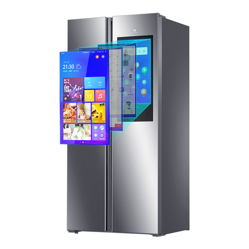 Viomi yunmi 450L double door refrigerator 21face silent fresh keeping app remote control 21 inch lar