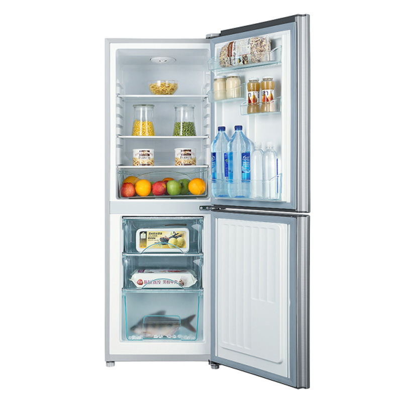 Haier bcd-192tmpl double door refrigerator refrigeration energy saving rental room two door small re