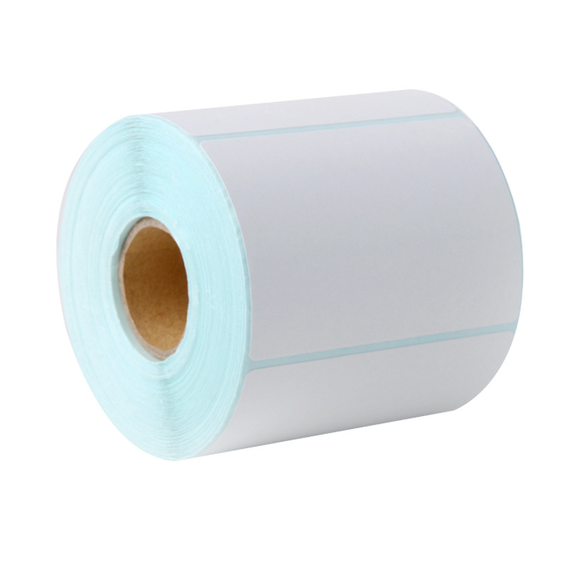 GL.LABEL 60 * 40 * 800 sheets of single row thermal adhesive label paper / bar code paper / label sc