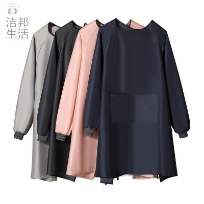 Áo khoác Áo dài tay áo chống thấm nước quần áo nhà hàng đồ nội thất PVC logo tùy chỉnh