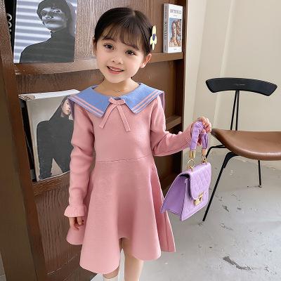 YOUJIAYI Đầm váy trẻ em Sweets hoạt hình trường học trẻ em may váy năm 2020 hàn quốc mùa thu mới trẻ
