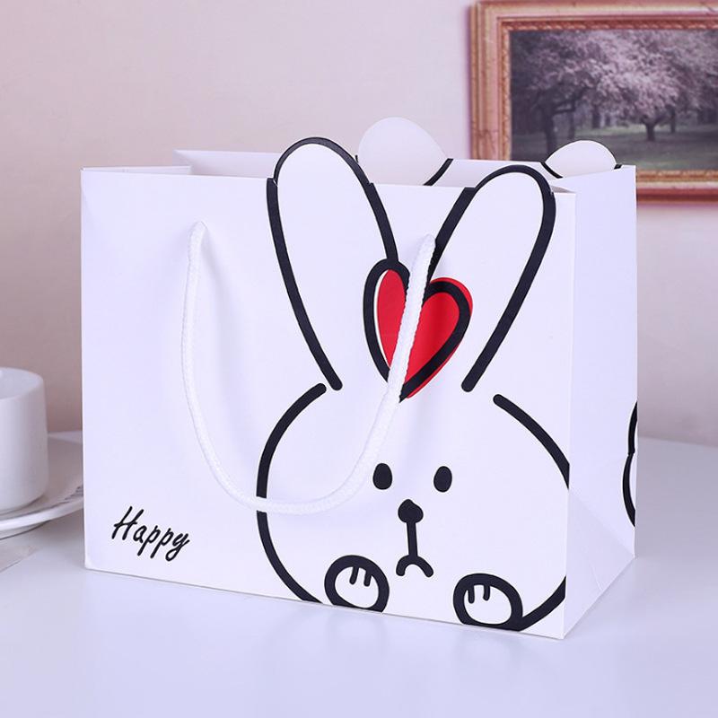 XINGZHILAN Little fresh cartoon rabbit handbag for girlfriends and children