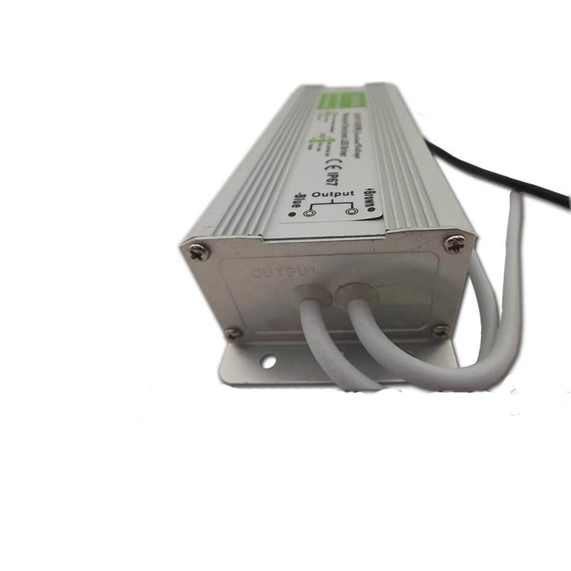 JINPUYUAN Full power 24v100w waterproof power LED constant voltage driving power supply 24v4.2a outd