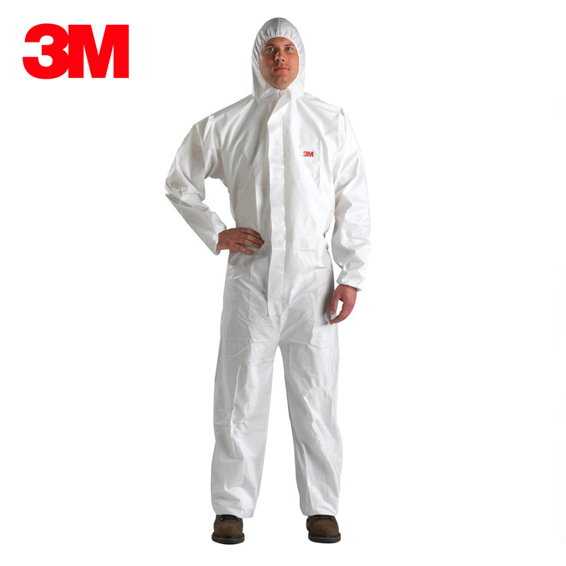 3M 4510 protective clothing anti-static dust-proof dust-free clothes one piece suit white breathable